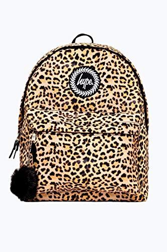Hype Rucksack Taschen Winter 2018 Rucksäcke - Schultasche - Viele Neue Farben & Designs AW-2018 Sammlung - Wählen Sie Ihr Favorit - Leopard Pom Pom, One Size