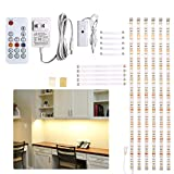 Under Counter Light, Dimmable LED Under Cabinet Lighting, 6 PCS...