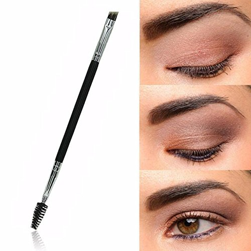 MEIYY Pinceau de maquillage 1Pcs Makeup Brushes Double Eyebrow Brush Eyebrow Make Up Beauty Tool