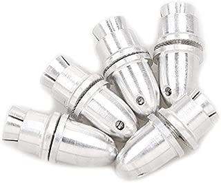 Onkuey 5pcs 3.0mm RC Aluminum Bullet Propeller Adapter Holder for Brushless Motor Prop