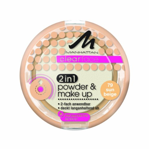 Manhattan CF 2in1 Powder & Make Up 79 1er Pack (1 x 11 g)