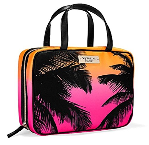 Victoria's Secret Travel Tote Bag Weekender Cosmetic Carrier Palm Tree Trees Hawaii Caribbean Cruise 2016