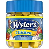Wyler's Chicken Instant Bouillon Cubes (3.25 oz Jars, Pack of 8)