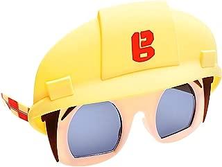 Sun-Staches Costume Sunglasses Bob The Builder Party Favors UV400