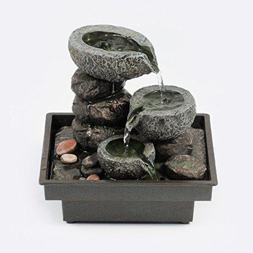 Pajoma - 18430 Fontaine d'intérieur en polyrésine - 25 cm