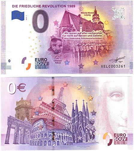 0 Euro Schein  DIE FRIEDLICHE Revolution 1989