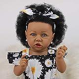 ZXYMUU 23 Pulgadas 58 cm Reborn Baby Doll Saskia Reborn Muñeca Muñeca LifeLikeike Silicone Vinyl Reb...