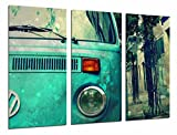 Poster Fotográfico Furgoneta volkswagen vintage Tamaño total: 97 x 62 cm XXL