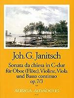 JANITSCH J.G. - Sonata da Chiesa Op.7 nコ 3 en Do Mayor (Partitura/Partes)