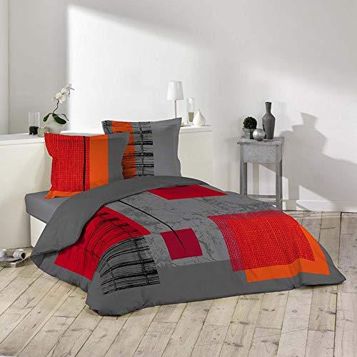 Douceur d 'Intérieur–Juego de cama de 2personas–Imprimé Quadro