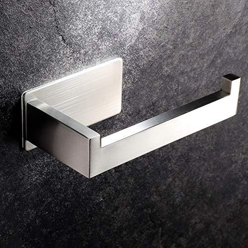 YIGII PortaCartaIgienicaAdesivo Portarotolo Carta Igienica Acciaio Inox per Bagno e Toilette