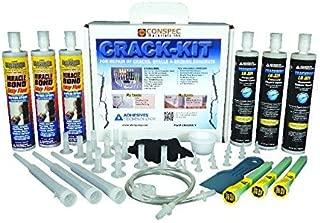 ATC - Epoxy Concrete Crack Kit - Wall, Floor, Foundation, Basement, Repair Kit