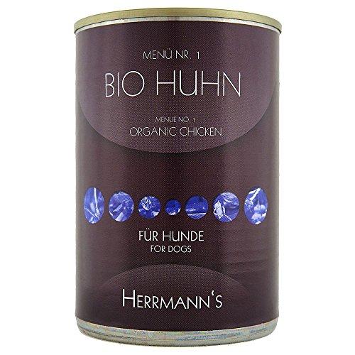 Herrmann's | Bio Rind mit Süßkartoffeln und Kürbis | 12 x 400 g