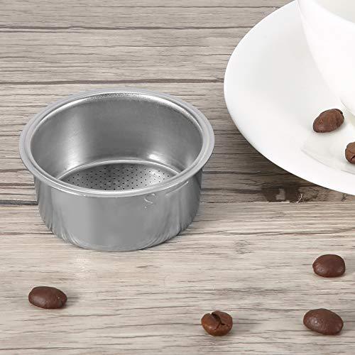 Filtro de café profesional, cesta de filtro para cafetera espresso, filtro de acero inoxidable, filtro de café, para cafetera doméstica, máquina de café de alta presión de 51 mm