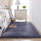 Alfombra antideslizante de lana de seda lavada engrosada sala de estar mesa de café manta dormitorio almohadilla de noche alfombra de yoga alfombra de felpa, 200x300cm