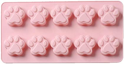Ice lolly moulds Ice Making Mold, 10 Cats Claw Silicone Baking Mold Cake Chocolate Ice Tray Mold DIY Silicone Soft Ice Box...