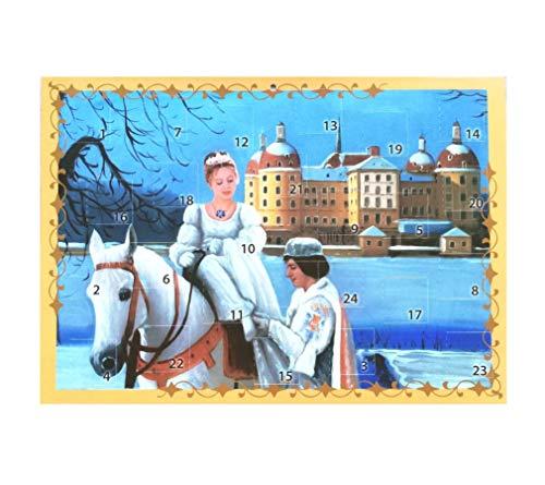 Adventskalender Aschenbrödel Papierkalender Weihnachten Kalender Märchen Aschenputtel