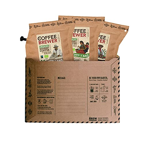 Travel Coffee for The Coffee Lover, Brew 6 Cups of Hand Roasted Specialty...