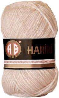 AB Hariri 218 Crochet and Knitting Yarn (Beige)
