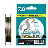 ダイワ(DAIWA) ライン UVF エメラルダス DURAセンサーX8 LD +Si2 200m 0.8号 (15lb)