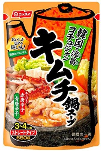 ニッスイ キムチ鍋スープ 650g×2個