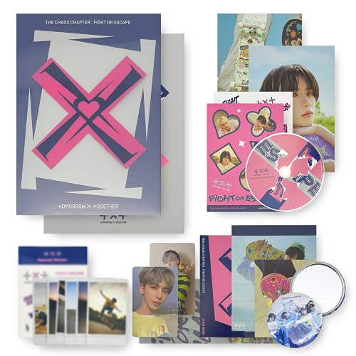 TXT The 2nd Album Repackage - THE CHAOS CHAPTER : FIGHT OR ESCAPE [ FIGHT ver. ]...