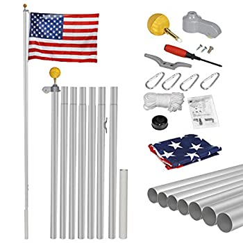 Best 25ft flagpole Reviews