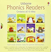 Usborne Phonics Readers 12 illustrated Books Box Set Collection - Read at Home