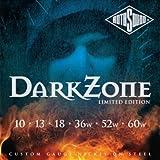 Rotosound Dark Zone Electric Guitar Strings (Gauge 10)