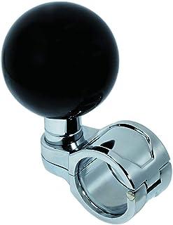 ジェットイノウエ(JET INOUE) ハンドルスピンナー 丸型 ブラック 506267 ベアリング採用 取付ハンドルサイズ26~32mmΦ 6角レンチ付 ゴムパッキン2枚付