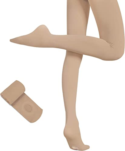 Toast Capezio ultra shimmery footless dance ballet tights 1880  S Age 4-6