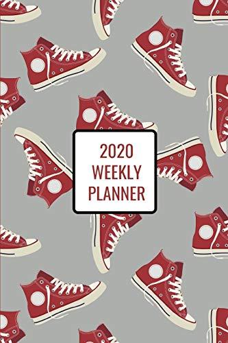 2020 Weekly Planner: Hi-top sneakers; January 1, 2020 - December 31, 2020; 6