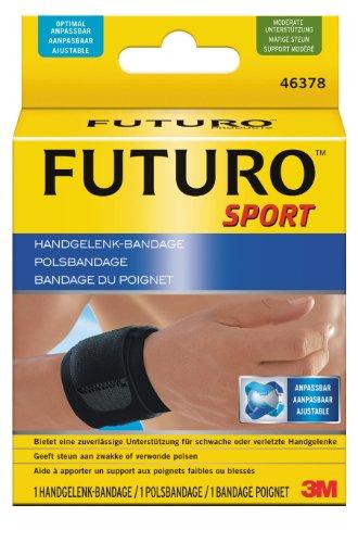 FUTURO FUT46378 Sport Handgelenk-Bandage, beidseitig tragbar, Einheitsgröße