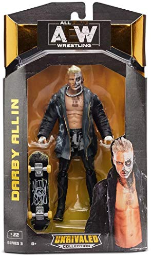 AEW JAZWARES – AEW0021 Unrivalled Collection – Darby Allin – 16.5cm Wrestling Actionfigur