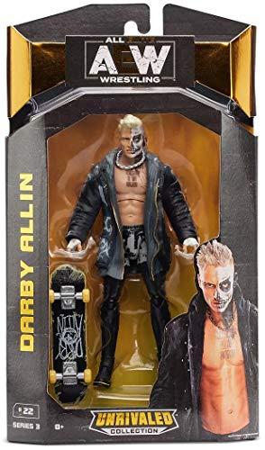 AEW Darby Allin Unrivaled Series 3 Action Figure All Elite Wrestling 17cm