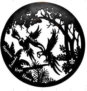 بيلا 21925 شجرة الحياة الفن الجداري المعدني الإيمان الحب الأمل الأسرة اقتباس 24 بوصة الأسود