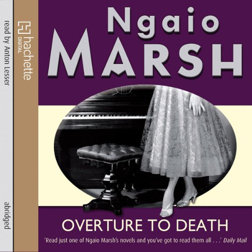 Overture to Death audiobook cover art