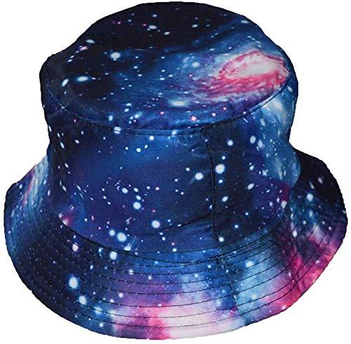 COOL Universe Impression Seau Style Chapeau de soleil Bleu