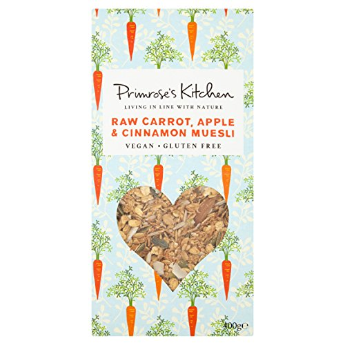 Primrose's Kitchen | Raw Carrot/Apple/Cin Muesli | 5 x 400g