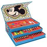 New Maletin Pinturas 3 Pisos Mickey Mouse, el Regalo para niño Ideal , Estuche...