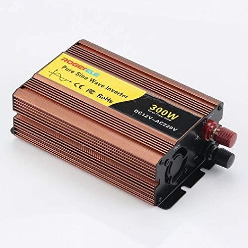 BZMOU Inverter a Onda sinusoidale Pura 12V / 24V / 48V a 220V Car Inverter Onda sinusoidale 300W di Alimentazione del convertitore Puro dell'onda di Seno, for Smartphone Tablet Laptop Inverter a