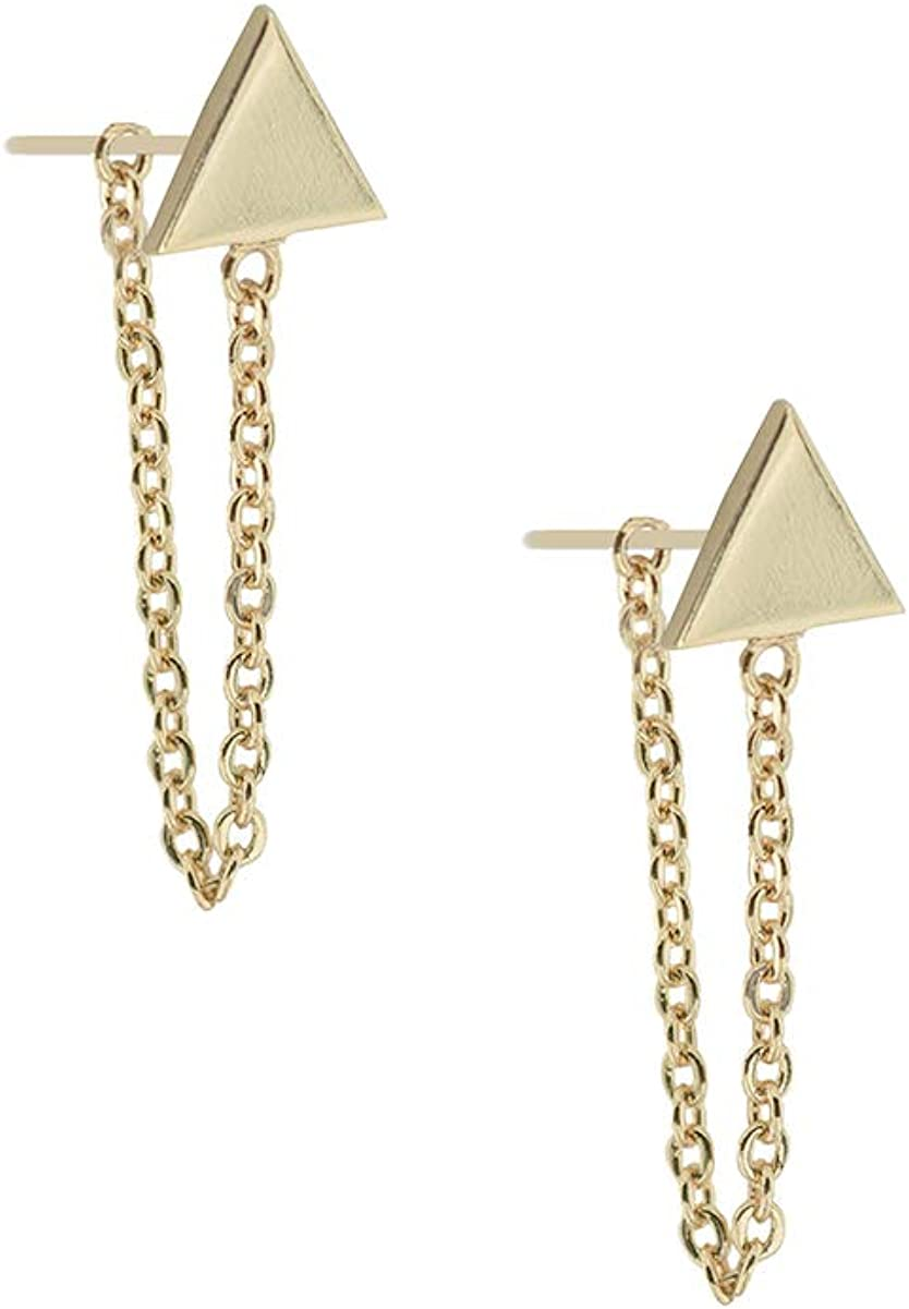 Uncommon James Refinery Free Shipping New Max 78% OFF Earrings Gold