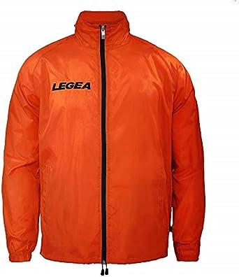 Legea Cairo Tuono Hooded Long Sleeve Jacket Wind- Breaker Green
