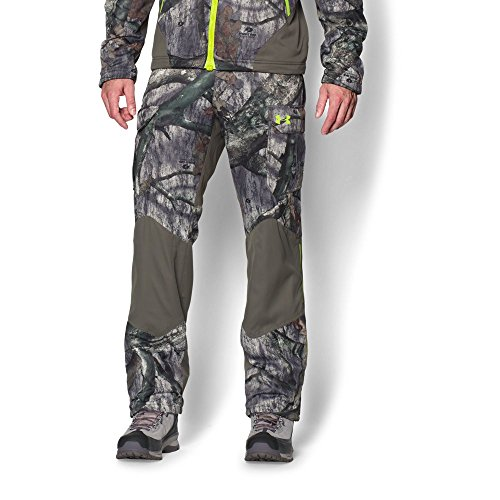 Under Armour Coldgear Infrared Scent Control Barrier Pant - Men's Mossy Oak Treestand / Velocity XL