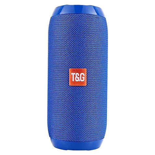 TG117 BT Outdoor Speaker Waterproof Portable Wireless Column Loudspeaker Box with TF Card FM Radio