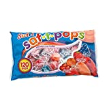 Saf-T-Pops Swirls Suckers - Bag of 120 lollipop candies