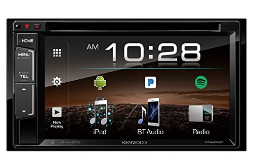 Kenwood DDX25BT 6.2' 2-Din in-Dash DVD Monitor Bluetooth Receiver Sirius/MP3/WMA