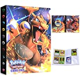 Album Pokemon, Álbum de Cartas Pokémon, Álbum Titular de Tarjetas Pokémon Carpeta Carpeta Libro 30 páginas 240...