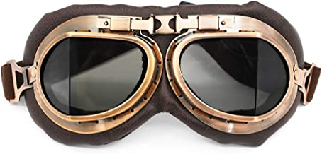 real aviator goggles