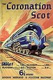 DHArt Rompecabezas para adultos 1000 piezas Coronation Scot London Midland Scottish Railway Juego educativo vintage para adultos niño alivio del estrés decoración del hogar